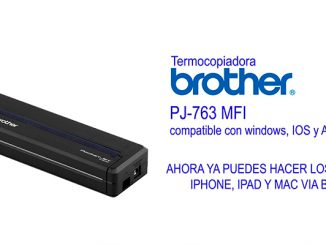 termocopiadora portátil brother