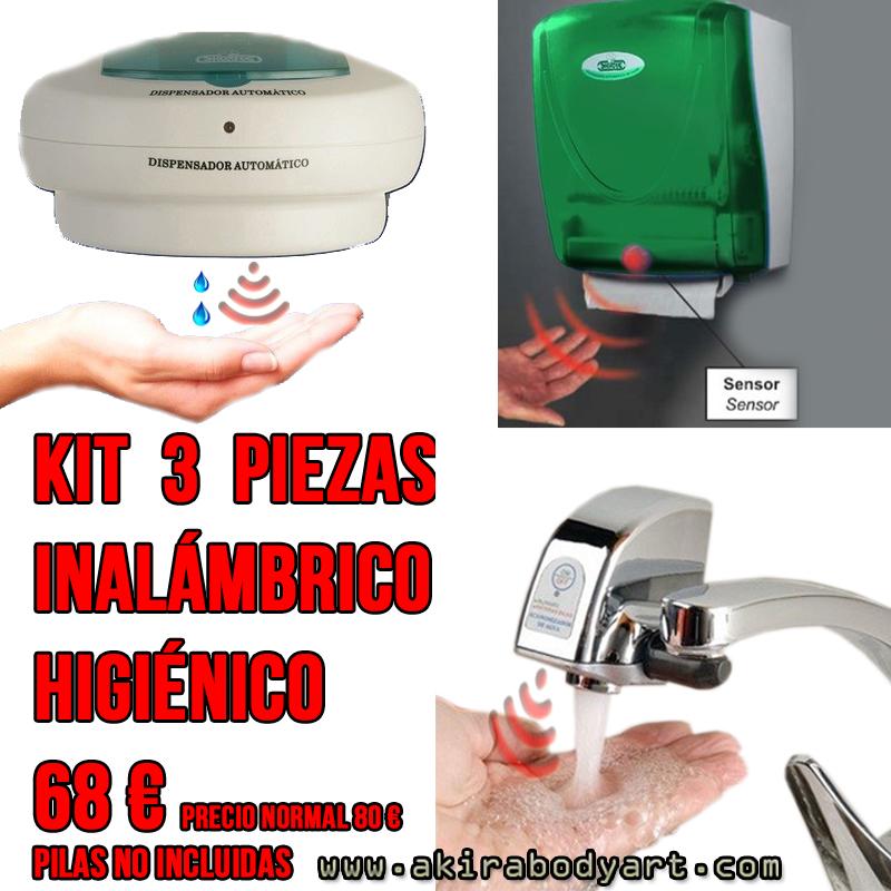 kit higiene mobiliario tatuajes
