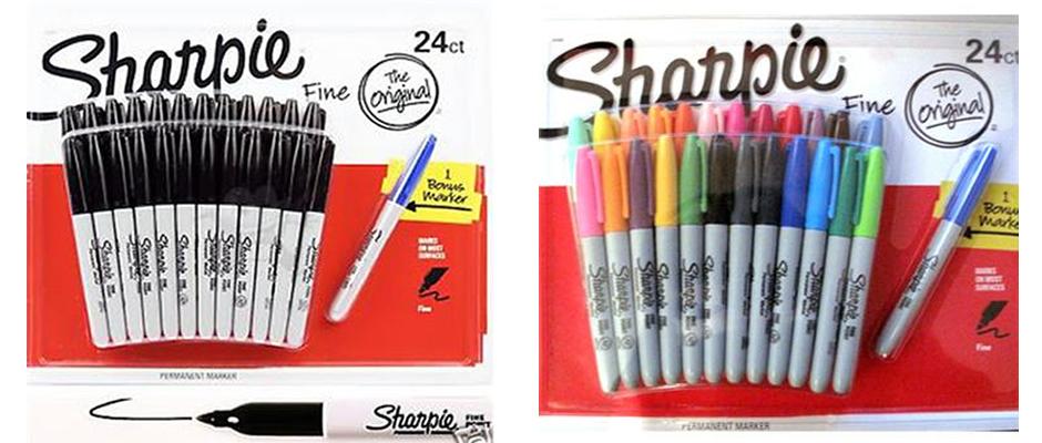 marcadores sharpie