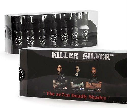 Tintas Killer Silver