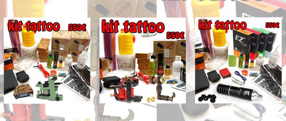 kits de tatuajes