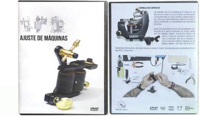 Ajustar máquinas de bobinas para tatuar bien es fácil gracias a este curso - dvd.