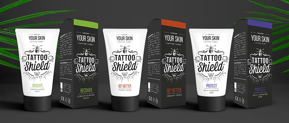 Cremas Tattoo Shield