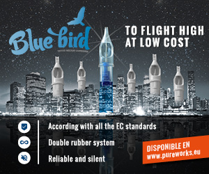 Agujas blue bird