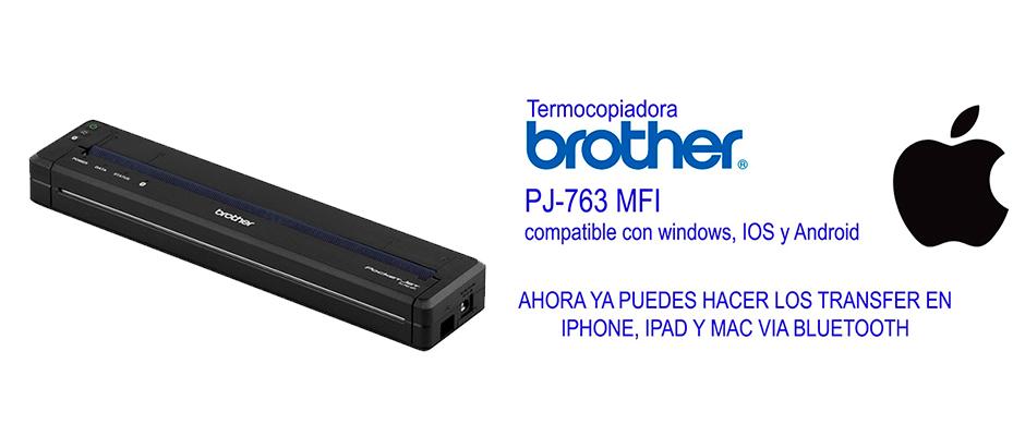 termocopiadora portátil brother
