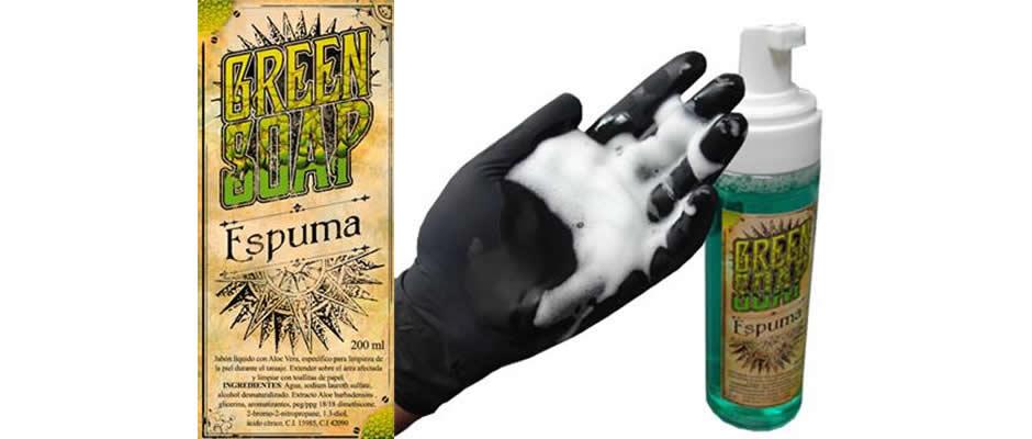 GREEN SOAP en Espuma